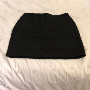 Simple black skirt